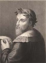 Ariosto, engraved by Robert Hart after Raffaello Morghen, 1853 (Corson P.7034)
