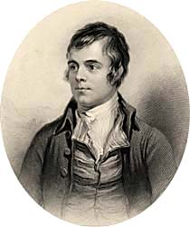 Robert Burns, engraved by Henry Robinson after Alexander Naysmith, 1876 (Corson P.2023)