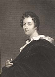 Lord Byron, engraved by W.E. West after T.A. Dean, 1830 (.82176 Gal.)