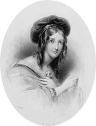 Isabel Vere, engraved by James Thomson after Edmund Thomas Parris, 1833 (Corson P.2922)