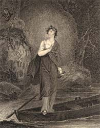 Ellen Douglas, 1811, engraved by Charles Heath after Richard Westall (Corson H.WES.4)