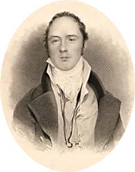 Matthew Gregory Lewis, unattributed engraving, 1839 (Corson F.1.b.LEW.BAR.1)