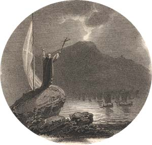 Lord of the Isles, engraved by John Pye after Richard Westall, 1815 (Corson H.WES.1)