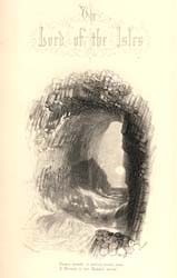 The Lord of the Isles, engraved by E. Goodall after J.M.W. Turner, 1857 (Corson A.4.LOR.1.a.1857/1)