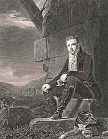 Walter Scott (1808), engraved by John Horsburgh after Sir Henry Raeburn, 18--? (Corson P.7399)