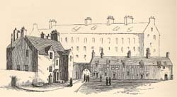 Edinburgh College at the End of the Eighteenth Century, unknown artist (Q* 11.15)